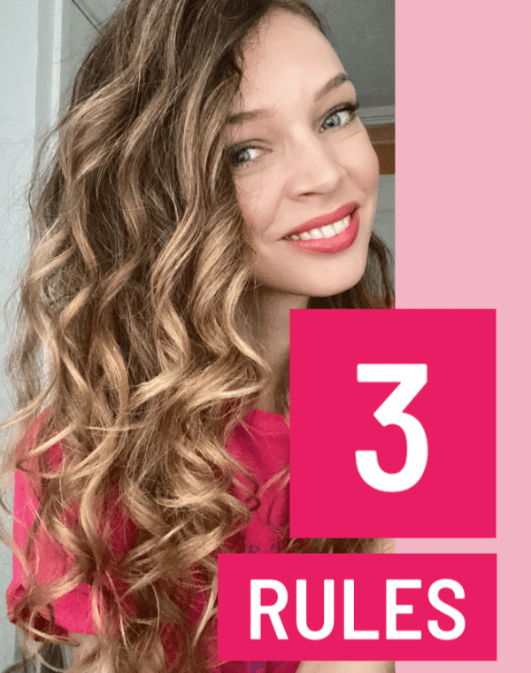 3 curly hair rules I stick to
