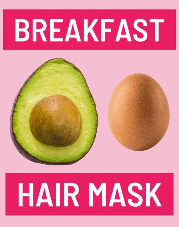 avocado and egg hair mask