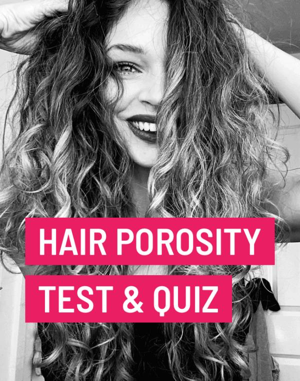 hair porosity test and quiz