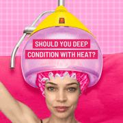 should you deep condition with heat?