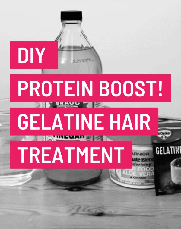 gelatine hair treatment