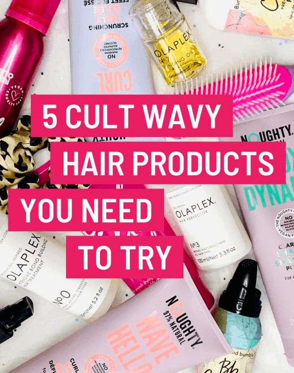 cult wavy hair products
