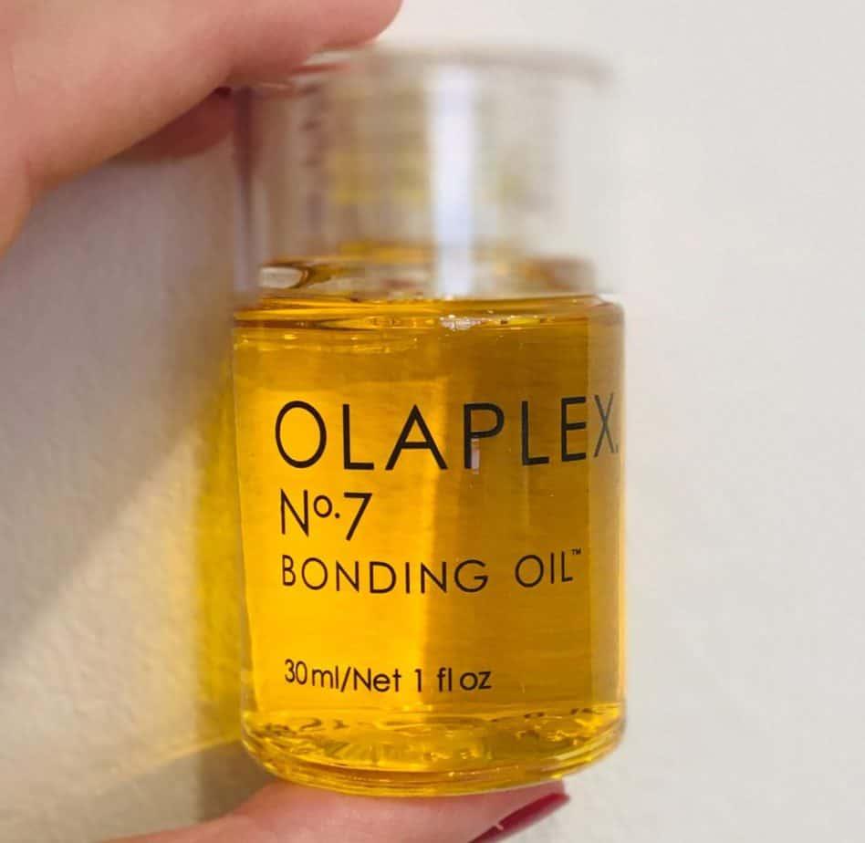 olaplex bonding oil to protect waves