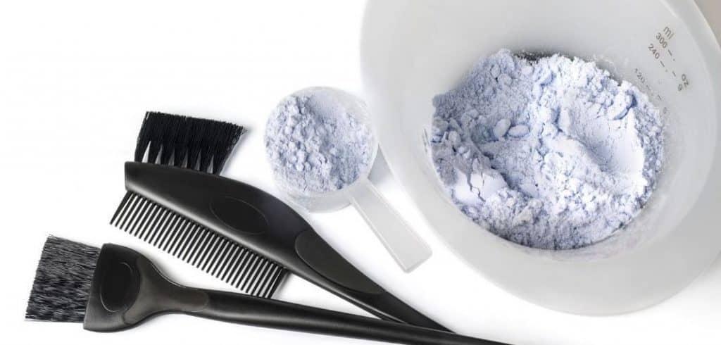 using bleach to colour hair