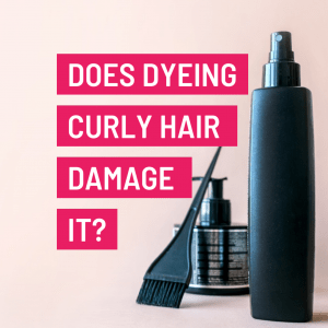 does colouring curly hair damage it?
