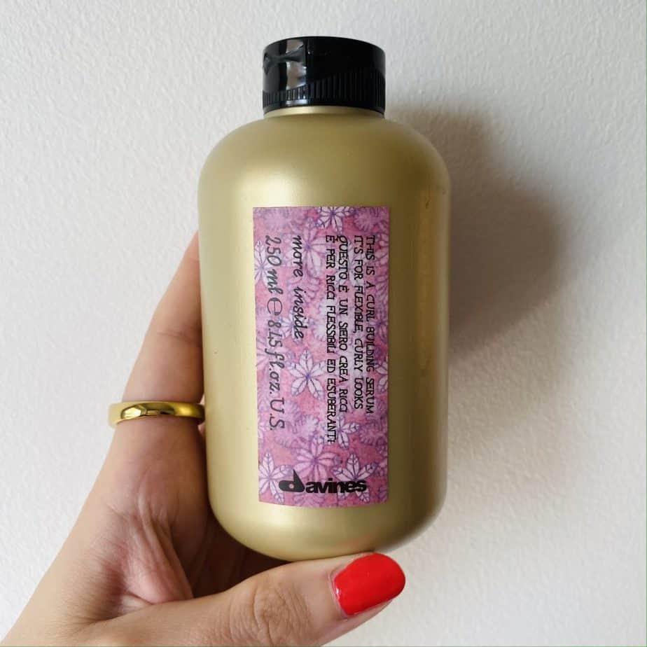Davines curl bilding serum bottle