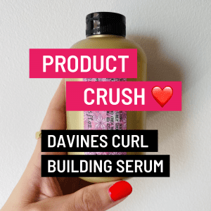 davines curl building serum review