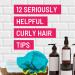 helpful curly hair tips